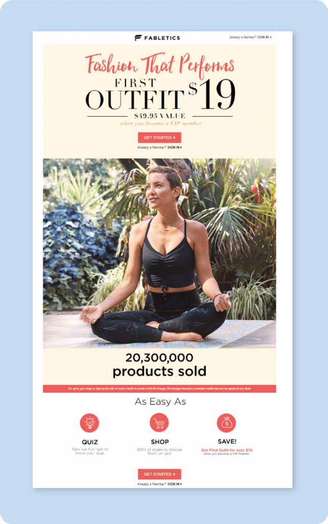 Fabletics Gamify