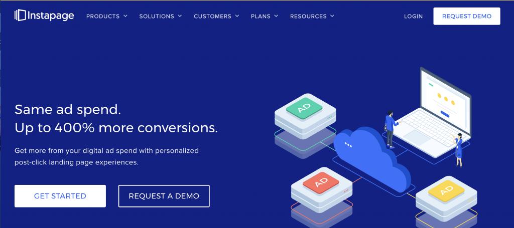 Instapage Facebook Marketing Tool