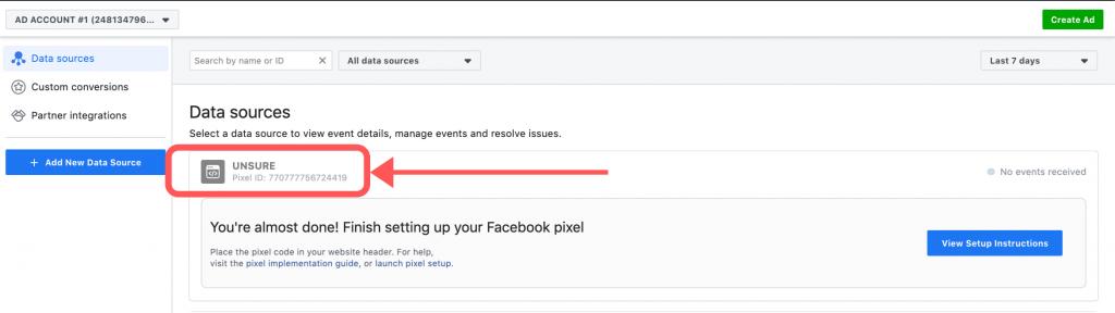 Pixel Business Manager Facebook