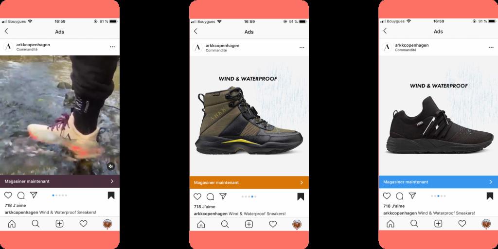 Arkk Coppenhagen - Best Instagram ads 2019