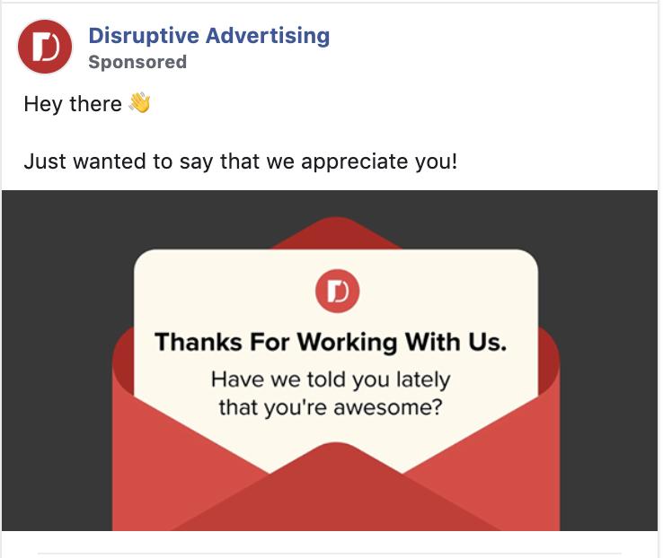 Facebook Retargeting Disruptive Advertising