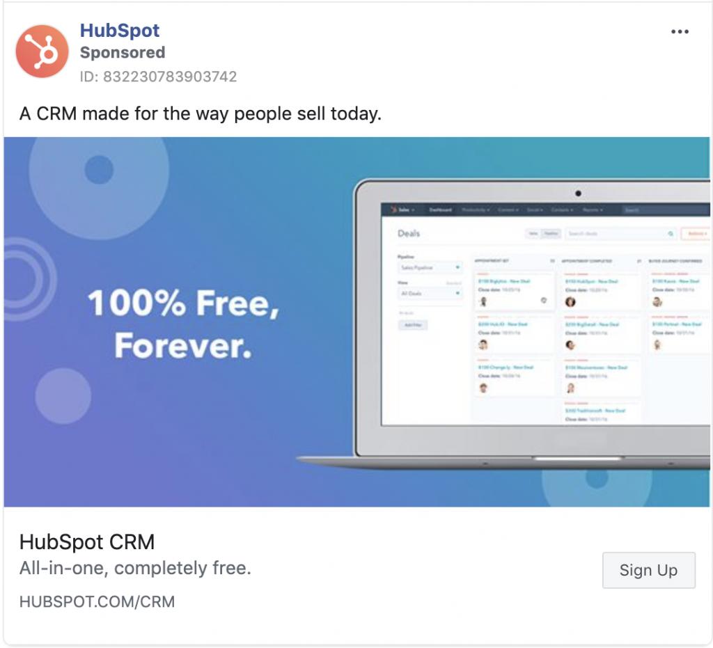 Hubspot Facebook Retargeting