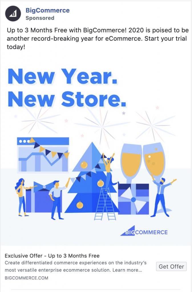 Facebook retargeting BigCommerce