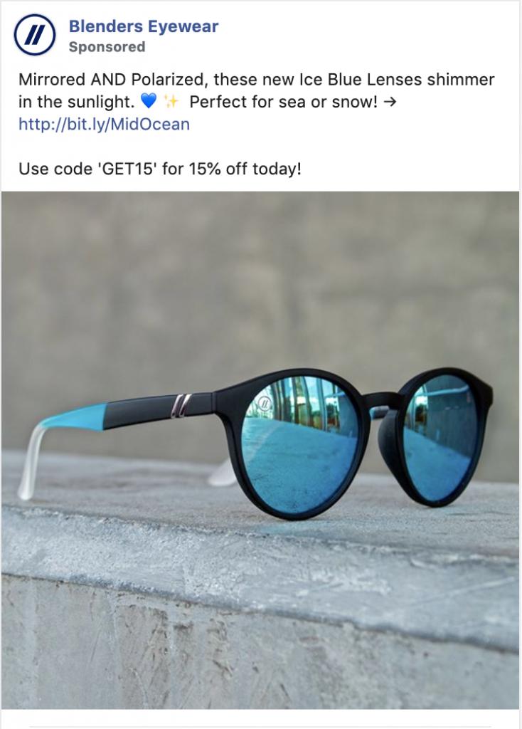 Blenders Facebook Retargeting