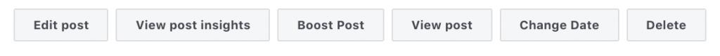 Edit your Facebook post Creator Studio