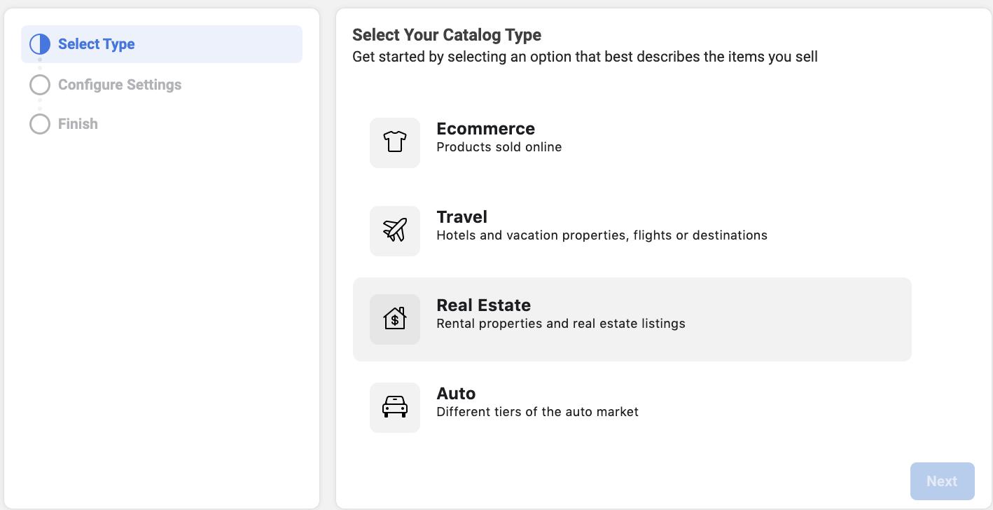 Dynamic Facebook ads Real Estate