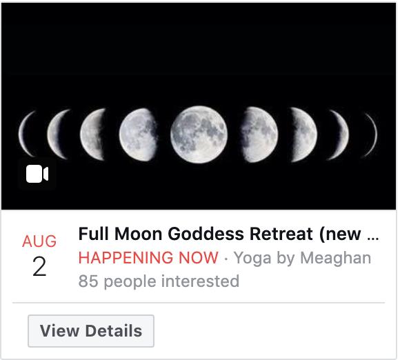 Facebook Event Digital Advertising