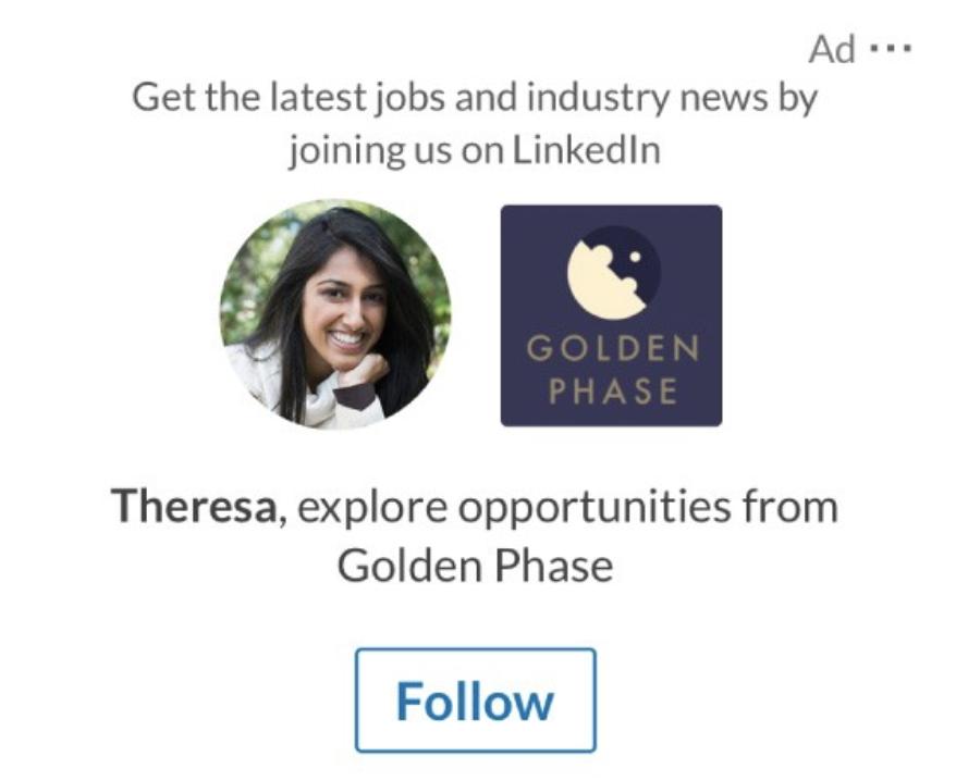 Follower ad