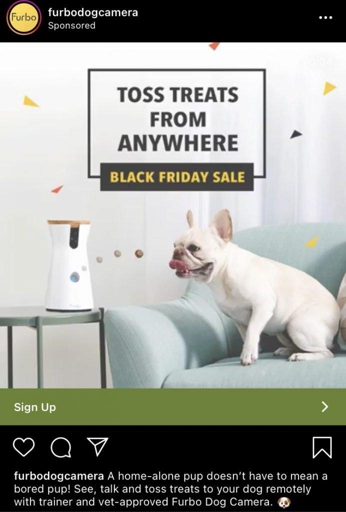 furbo instagram ad