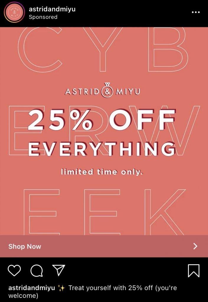 astrid and miyu instagram ad