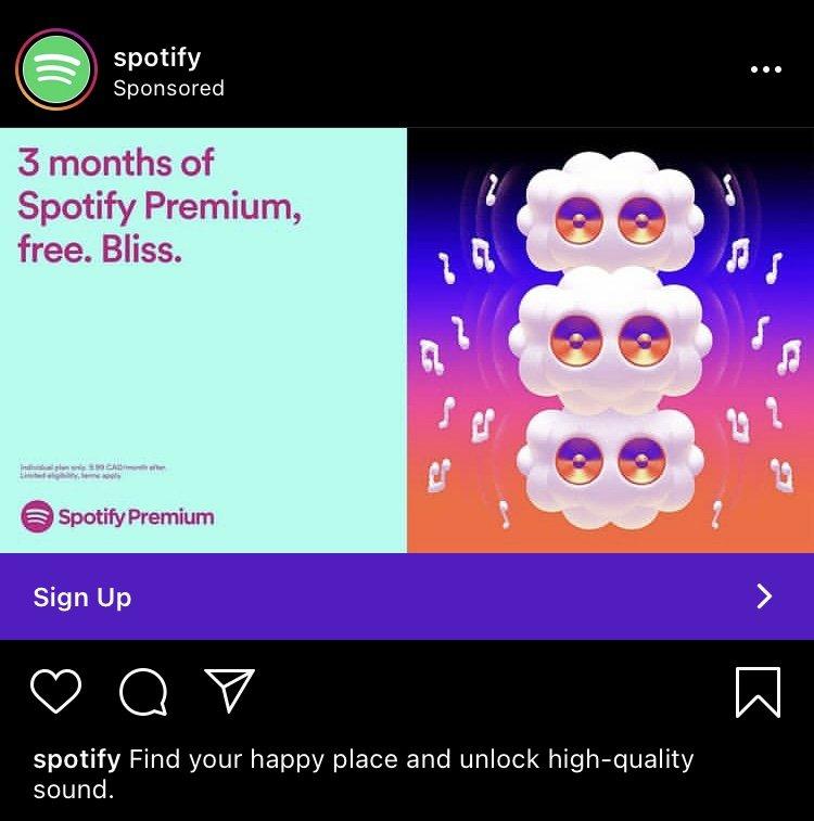 spotify instagram ad