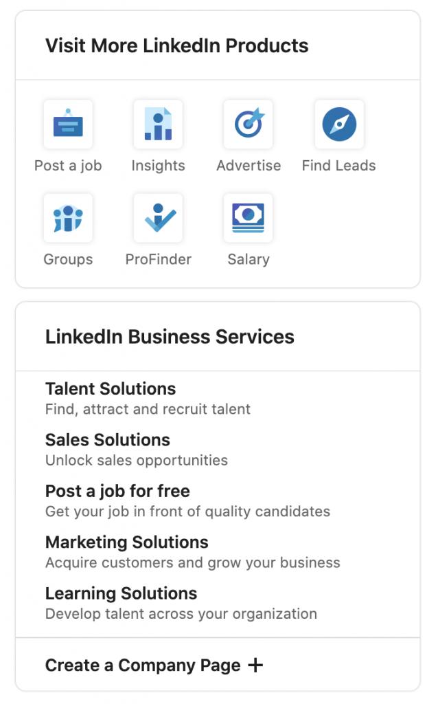 Linkedin marketing B2B products